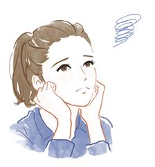 自律神経・不眠・更年期・生理痛・PMSイラスト