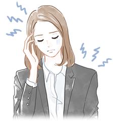 頭痛・肩こりイラスト